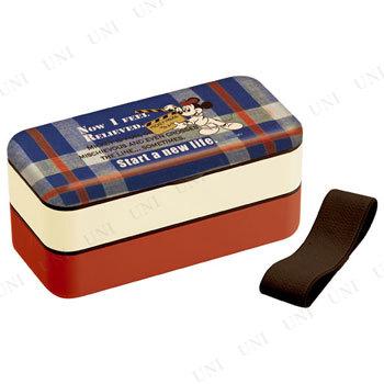 【取寄品】 シンプルランチボックス(メラミン製蓋) ミッキー