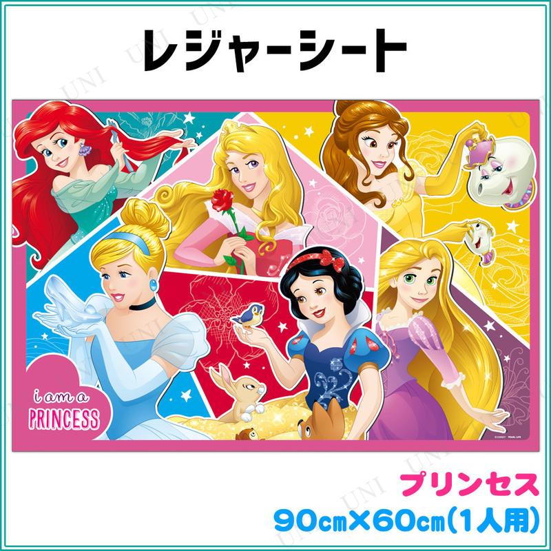 ディズニー レジャーシート 90×60cm プリンセス/ドリーム
