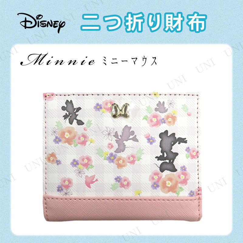ディズニー 二つ折り財布 ミニー