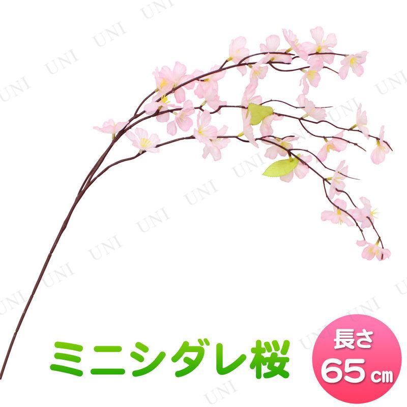 [4点セット] 65cmミニシダレ桜