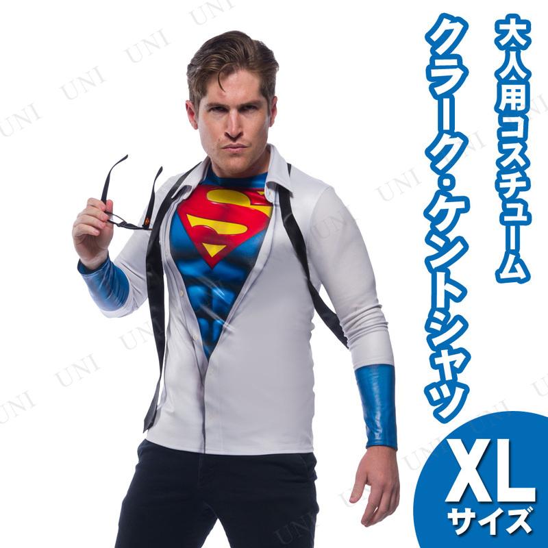 コスプレ 仮装 クラークケントシャツ 大人用 XL (大きいサイズ)
