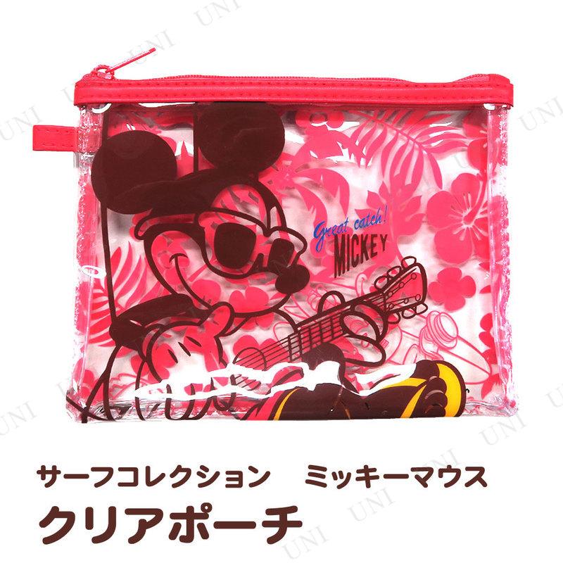 ディズニー クリアポーチ ミッキーマウス