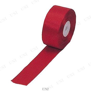 """1.5""""リボンテープ 赤 29m巻"""