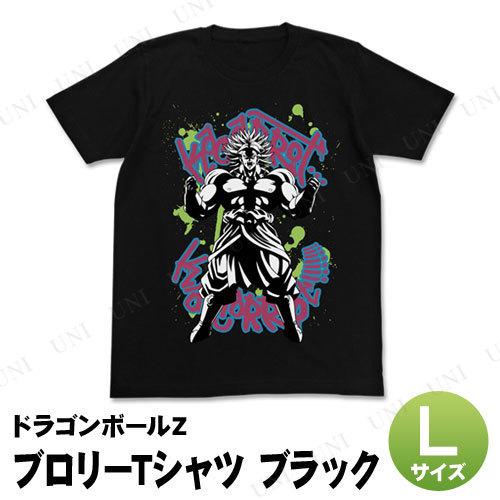 コスプレ 仮装 ドラゴンボールZ ブロリーTシャツ ブラック L