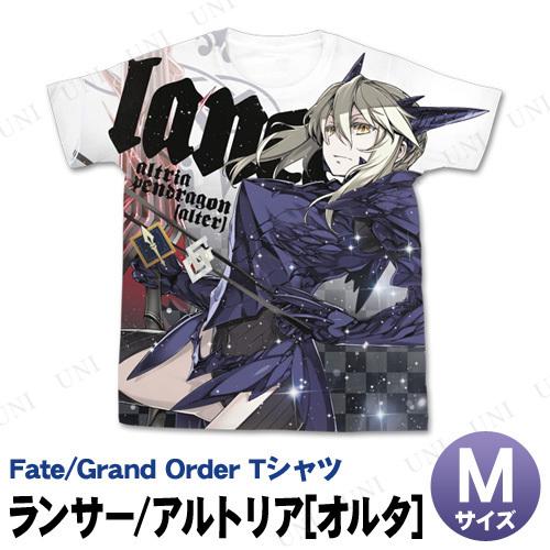 Fate/Grand Order ランサー/アルトリア・ペンドラゴン(オルタ) フルグラフィックTシャツ M