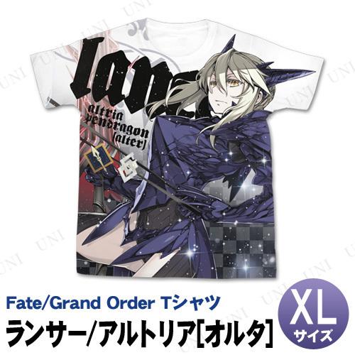 Fate/Grand Order ランサー/アルトリア・ペンドラゴン(オルタ) フルグラフィックTシャツ XL