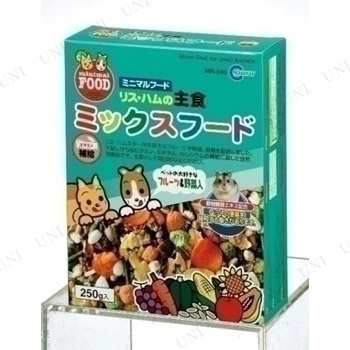 【取寄品】 マルカン リス・ハムの主食 ミックスフード 250g