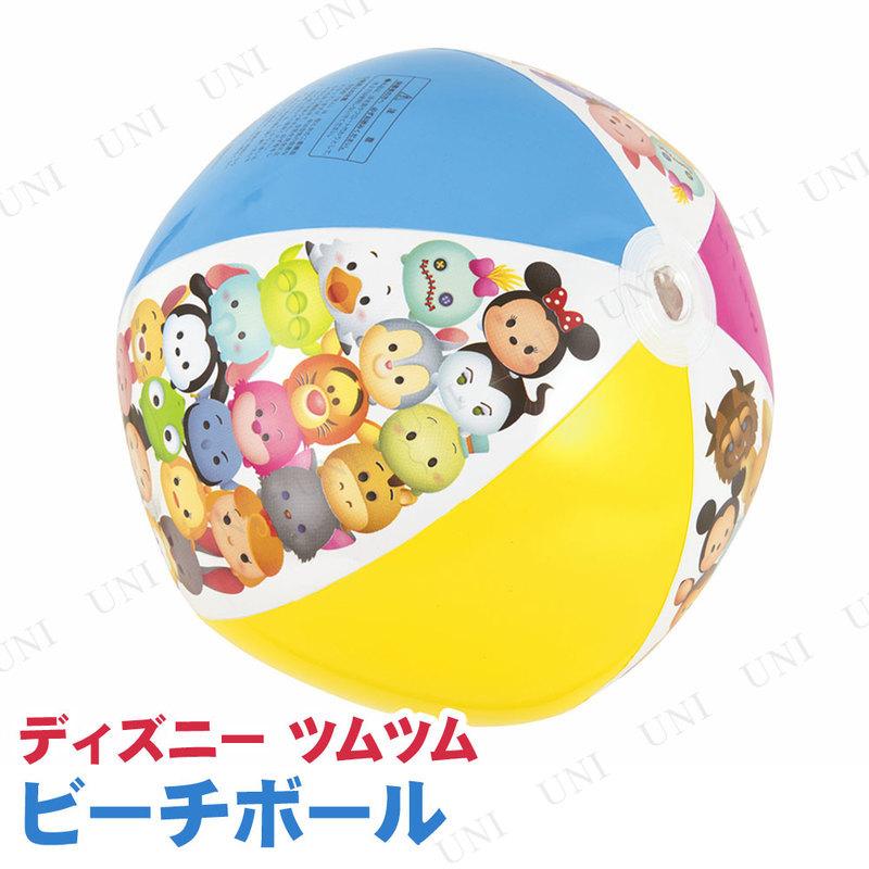 【取寄品】 ビーチボール 50cm ディズニーツムツム