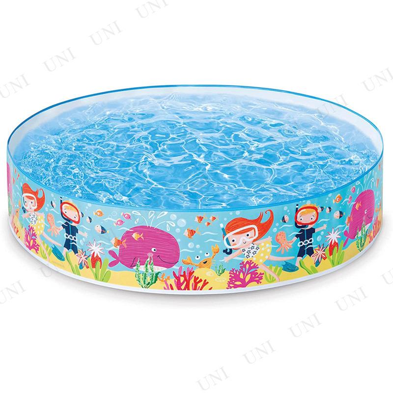 INTEX(インテックス) ダッキングスナップセットプール 122cm