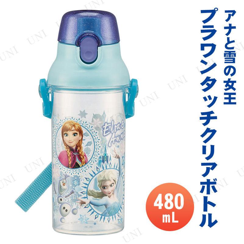 直飲みプラ製ワンタッチクリアボトル 480mL アナと雪の女王