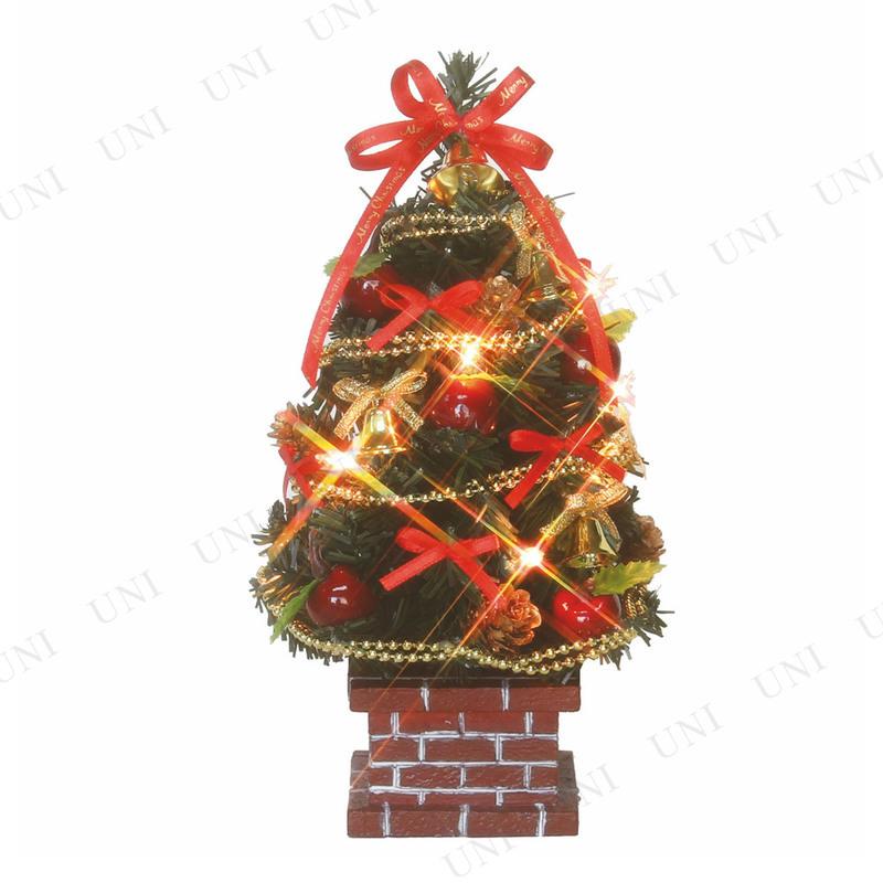 【取寄品】 クリスマスツリー デコレーションツリー ブリックアップル 21cm  (10球)