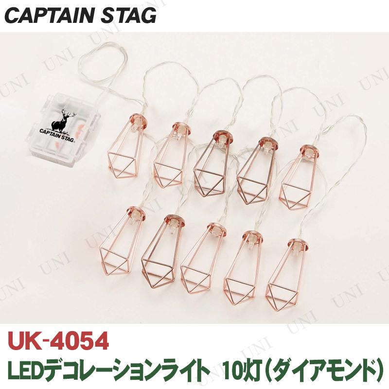 CAPTAIN STAG(キャプテンスタッグ) LEDデコレーションライト 10灯 ダイアモンド UK-4054