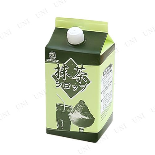 【取寄品】 景品 子供 抹茶シロップ 900mL