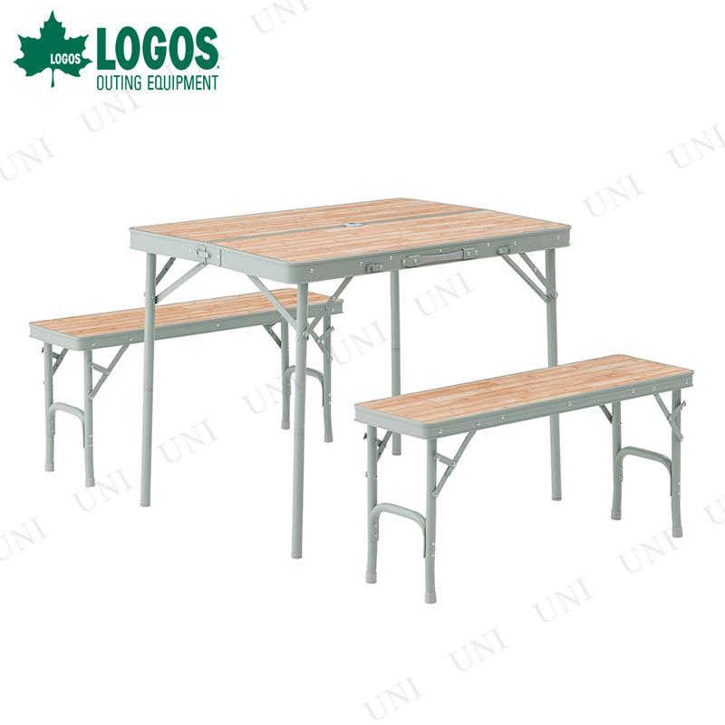 LOGOS (ロゴス) Life ベンチテーブルセット4