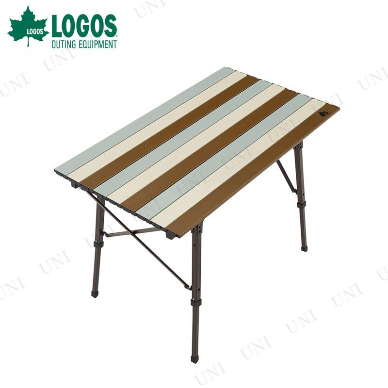 【取寄品】 LOGOS (ロゴス) Life オートレッグテーブル 9050 ヴィンテージ