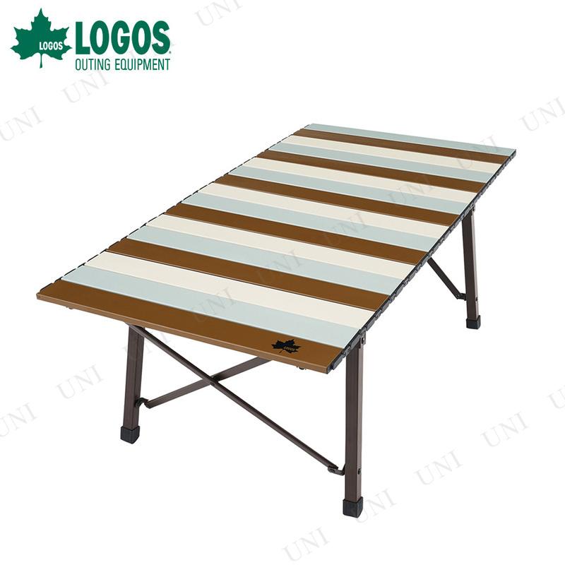 【取寄品】 LOGOS (ロゴス) Life コンパクトローテーブル 10050 ヴィンテージ