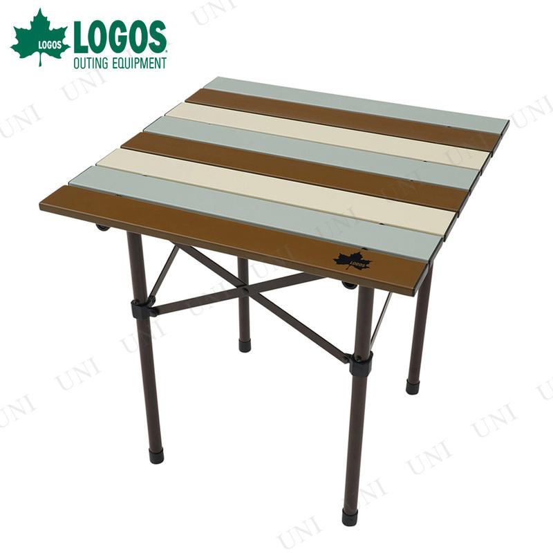【取寄品】 LOGOS (ロゴス) Life ロールサイドテーブル ヴィンテージ