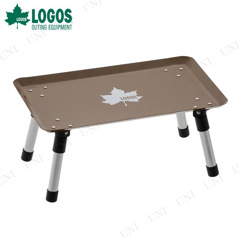【取寄品】 LOGOS (ロゴス) スタックカラータフテーブル ヴィンテージキャラメル
