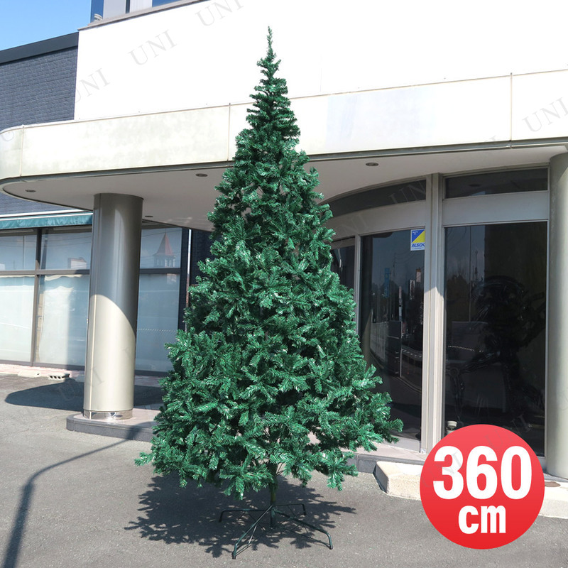 クリスマスツリー 360cmヌードツリー
