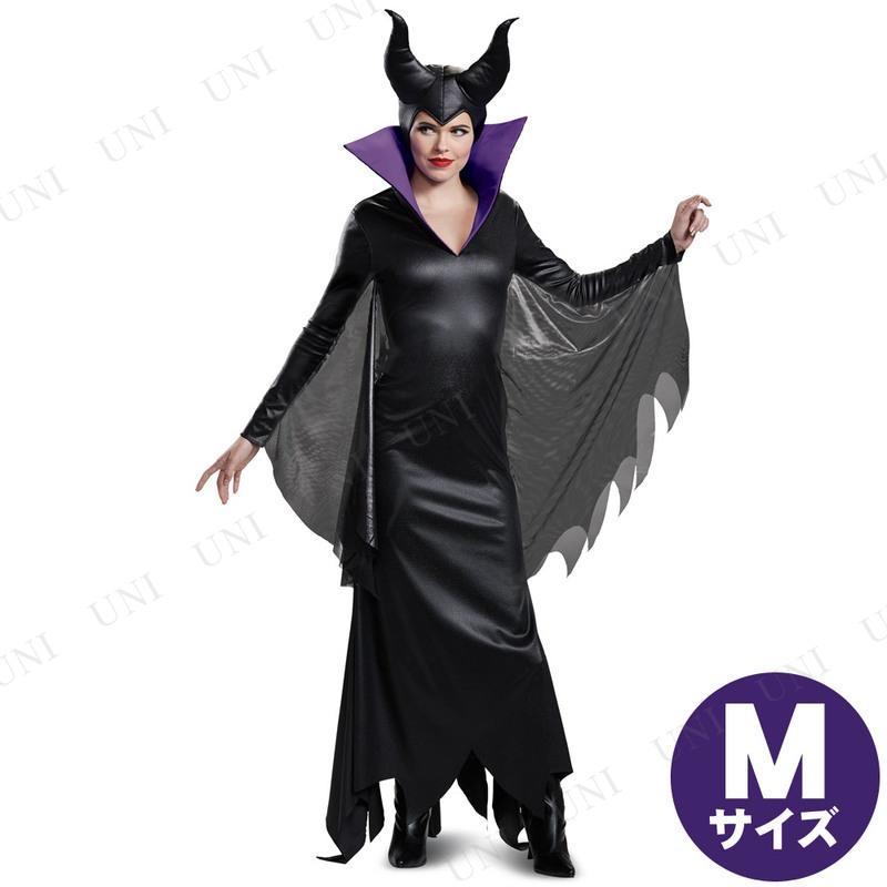 コスプレ 仮装 マレフィセント デラックス 大人用 M(8-10)