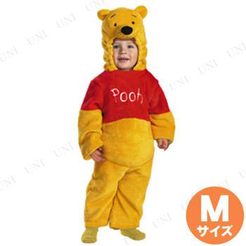 コスプレ 仮装 くまのプーさん デラックスジャンプスーツ 子供用 M(3T-4T)