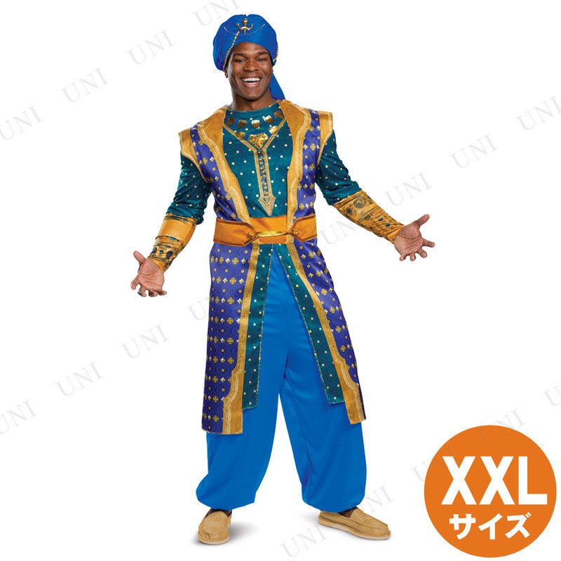 コスプレ 仮装 ジーニー デラックス 大人用 XXL (大きいサイズ)