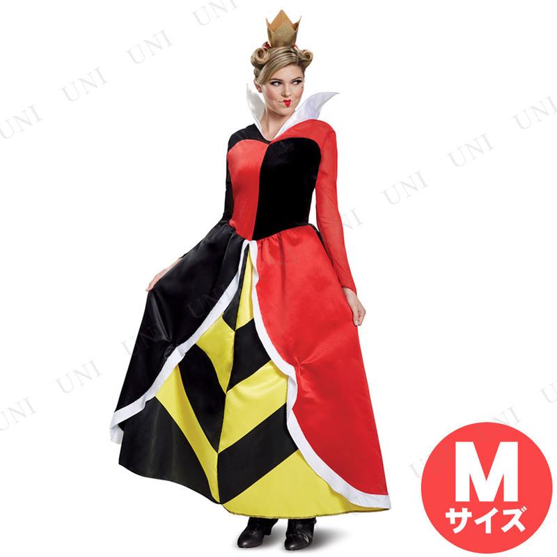コスプレ 仮装 ハートの女王 デラックス 大人用 M