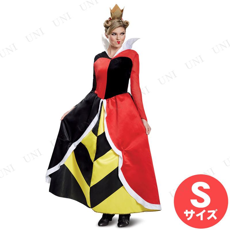 コスプレ 仮装 ハートの女王 デラックス 大人用 S