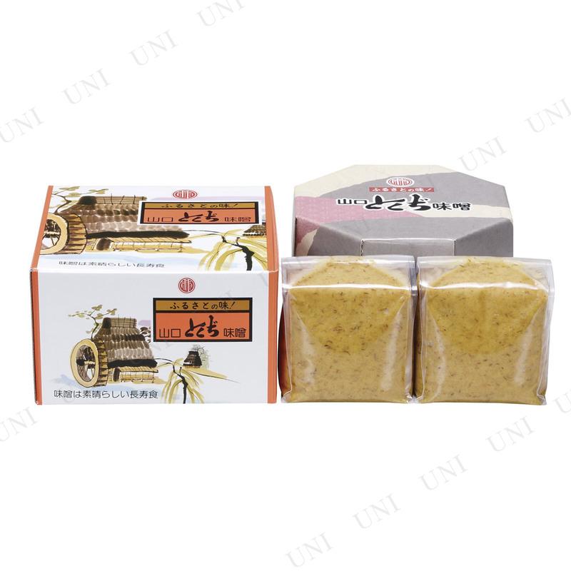 【山口県産品】【取寄品】 山口とくぢ味噌 麦つぶみそ樽箱入り 2kg(1kg袋×2)