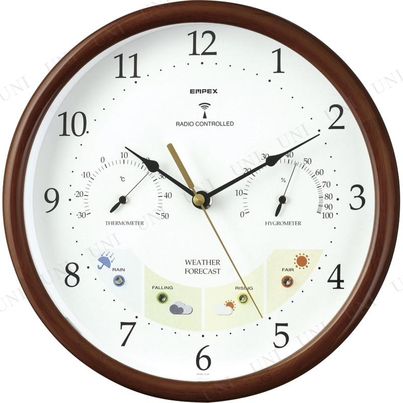 【取寄品】 エンペックス ウエザーパル電波時計