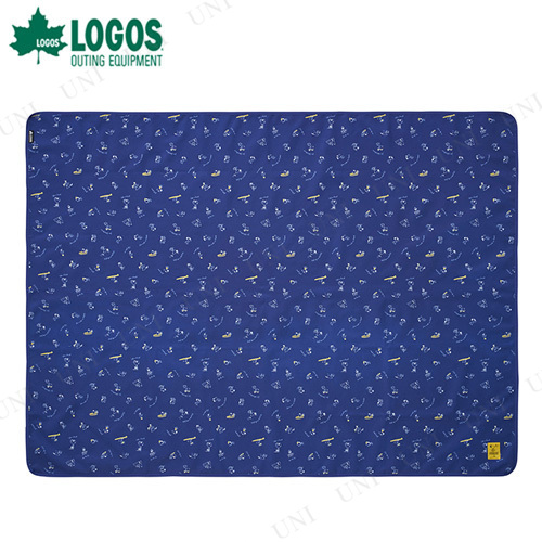 【取寄品】 LOGOS(ロゴス) スヌーピー 防水レジャーシート(195×145cm)