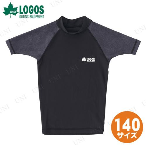 【取寄品】 LOGOS(ロゴス) キッズ ラッシュガード(ブラック 140)