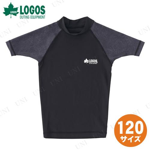 【取寄品】 LOGOS(ロゴス) キッズ ラッシュガード(ブラック 120)