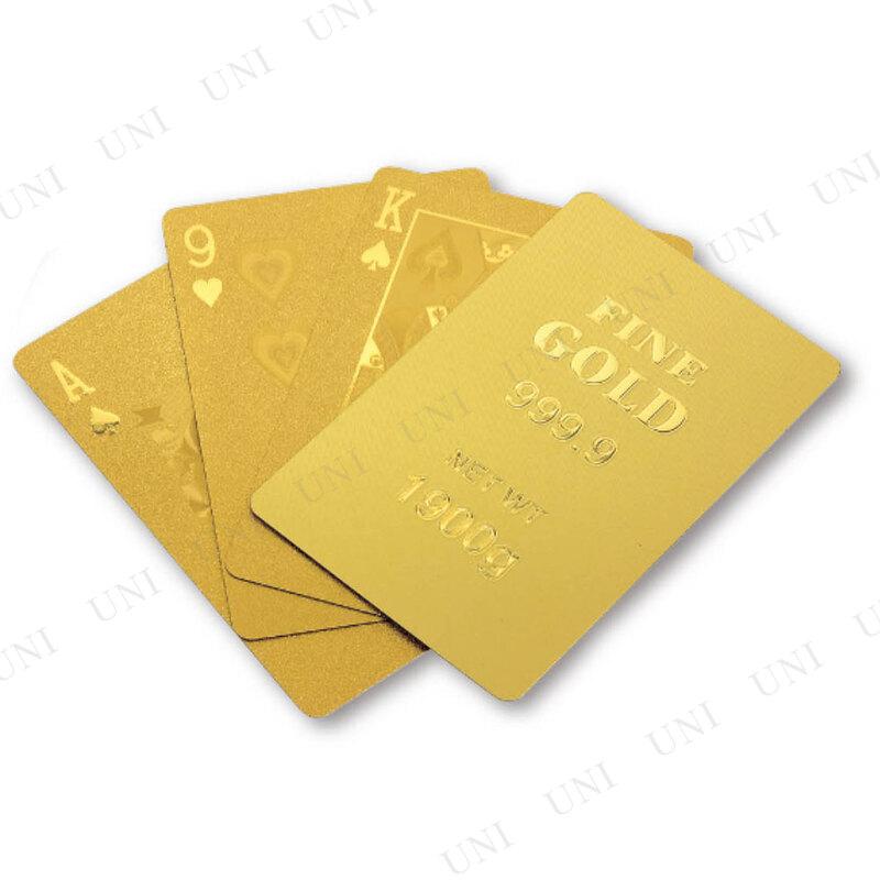 ゴールドトランプ ゴールドバー
