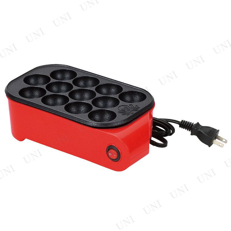 【取寄品】 たこパー日和II 電気式たこ焼き器12穴