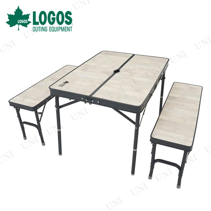 LOGOS(ロゴス) ROSY ベンチテーブルセット4