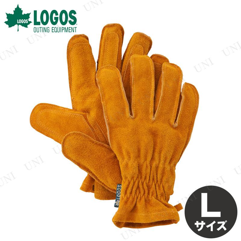 【取寄品】 LOGOS(ロゴス) BBQ耐熱レザーグローブ L
