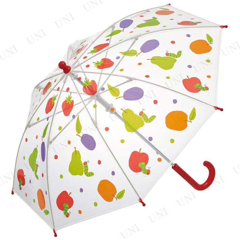 【取寄品】 40cm 子供用ビニール傘 はらぺこあおむし