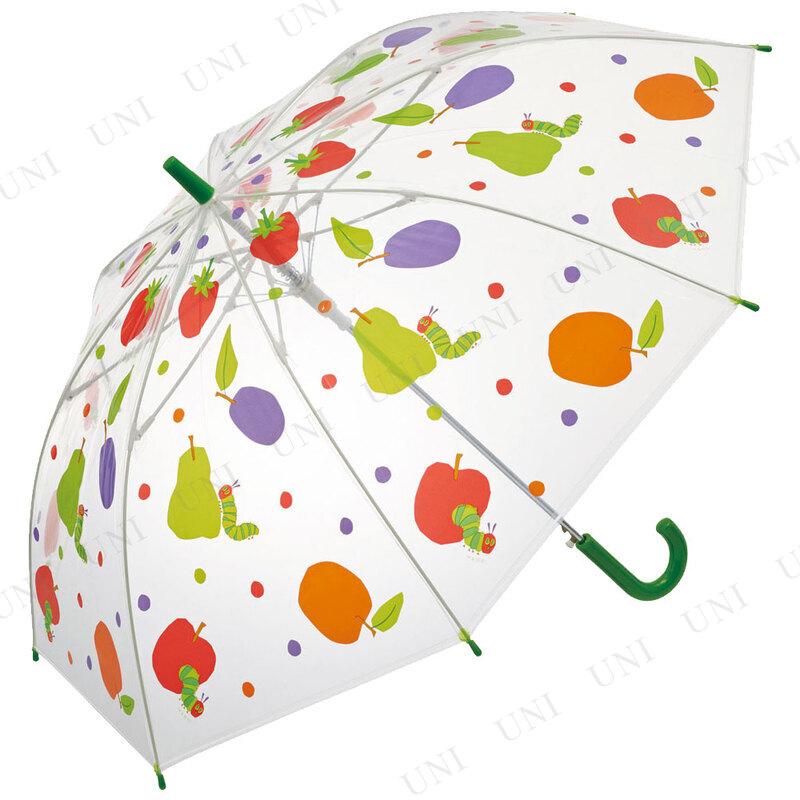 55cm 子供用ビニール傘 はらぺこあおむし