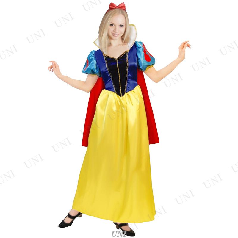 コスプレ 仮装 白雪姫ドレス 大人用