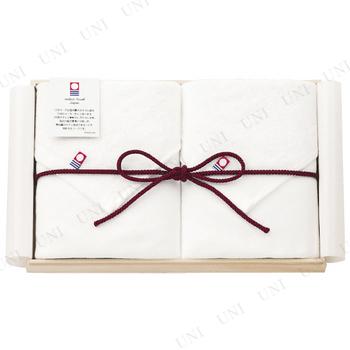 【取寄品】 ガーゼ フェイスタオル2枚セット 木箱入り 【imabari towel Japan】