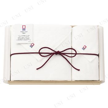 【取寄品】 ガーゼ 大判バス・ウォッシュタオルセット 木箱入り 【imabari towel Japan】