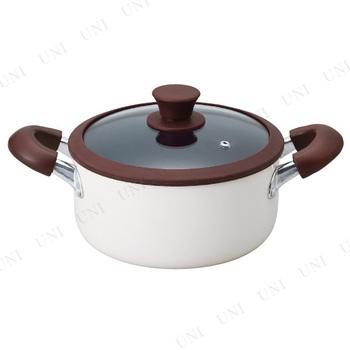 【取寄品】 ククナキッチン アルミ両手鍋20cm