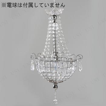 【取寄品】 シャンデリア1灯 BS-284-459 クリア