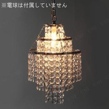 【取寄品】 シャンデリア1灯 BS-284-453 クリア