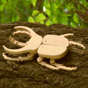 昆虫工作キット コーカサスオオカブト