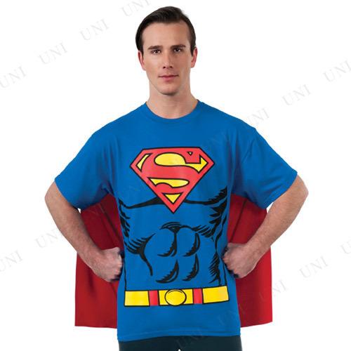 ルービーズ(Rubie's) スーパーマン Tシャツ 大人用 M