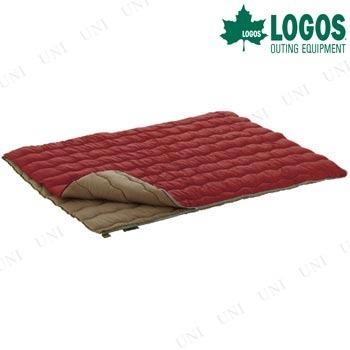 【取寄品】 LOGOS(ロゴス) 2in1・Wサイズ丸洗い寝袋・0