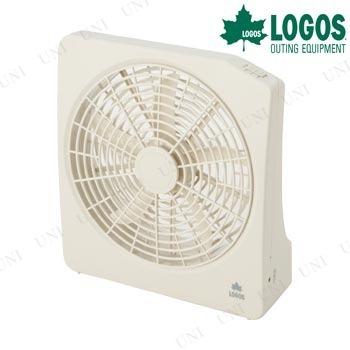 【取寄品】 LOGOS(ロゴス) 2電源・どこでも扇風機(AC・電池)