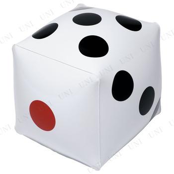 ビーチボール 30cm サイコロボール ホワイト